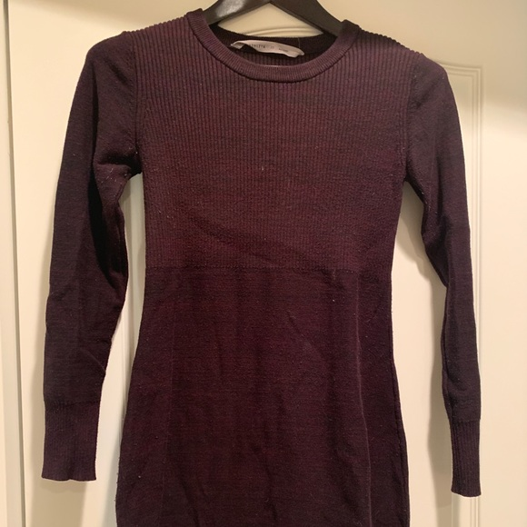 Athleta Dresses & Skirts - Athleta Burgundy Sweater Dress XS